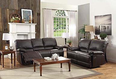Amazon.com: Homelegance Sofá doble reclinable con ...