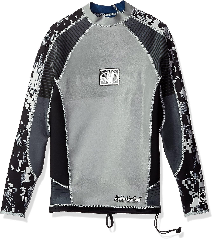 Desconocido Body Glove - Camiseta de Surf para Hombre, Reversible, Manga Larga, 1 mm, Talla M: Amazon.es: Ropa y accesorios