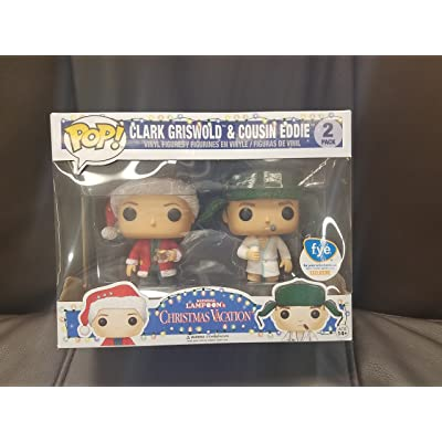 Funko Pop Vacation Clark Griswold and Cousin Eddie National Lampoon's FYE Exclusive Vinyl Figures: Toys & Games