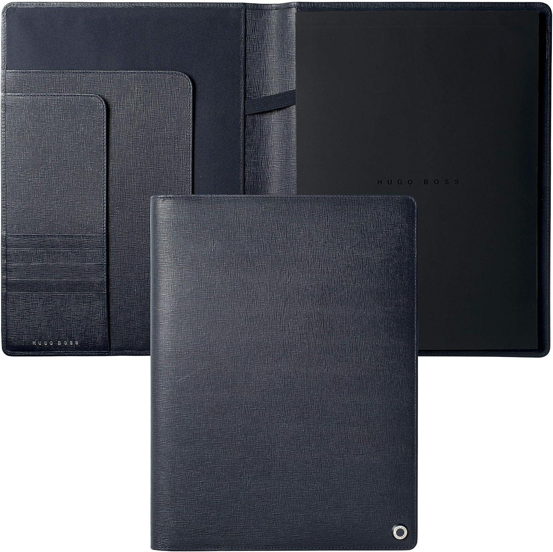 Hugo Boss hlf804 N portadocumentos (A4, Tradición Noche Azul/Azul Oscuro: Amazon.es: Oficina y papelería