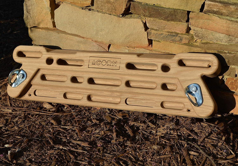 Acorn Climbing White Oak Midnight Hangboard/Fingerboard