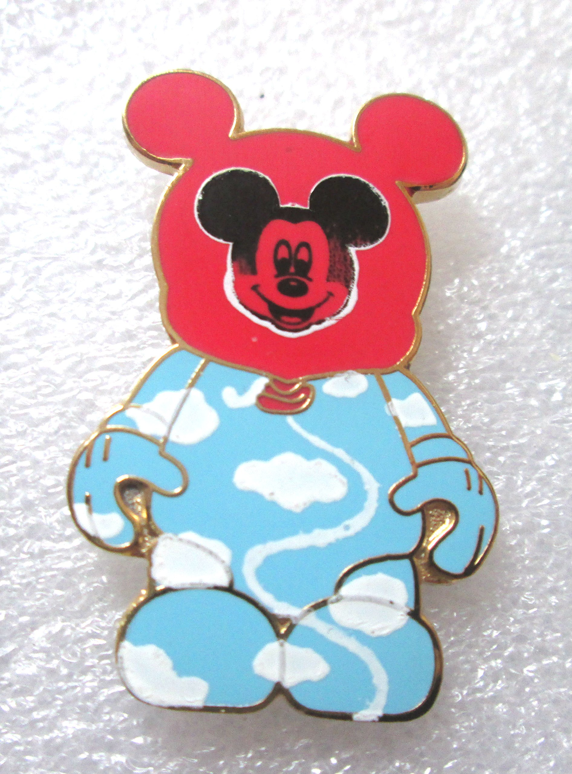 Disney's Vinylmation Mystery Pin Collection Park #1 - Red Balloon Mickey (Chaser) Disney Trading Pin by Disney