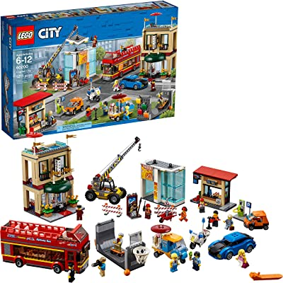 LEGO City Capital City 60200 Building Kit (1211 Pieces): Toys & Games