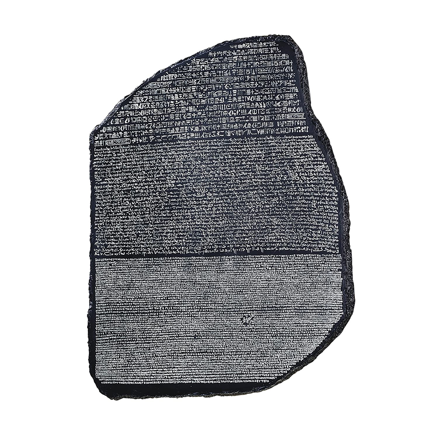 Design Toscano the Rosetta Stone Wall Sculpture, Dark Grey WU75482