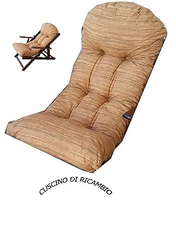 Kissen Kissen Super Gepolsterte Von Notebook Sessel Relaxsessel Stoff  Baumwolle Farbe Sand Liberoshopping