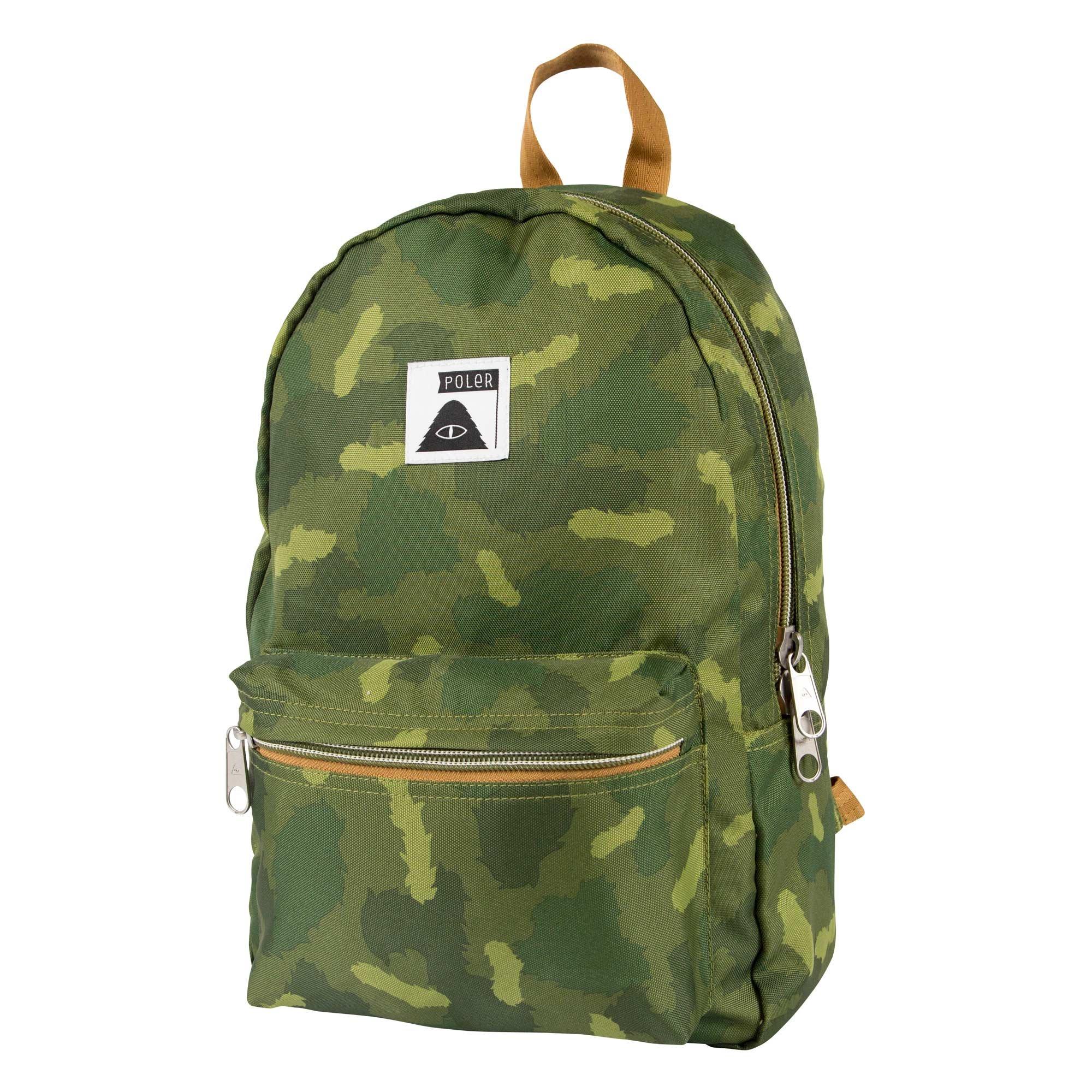 Poler Men's Rambler Pack Backpack, Furry Green Camo, One Size