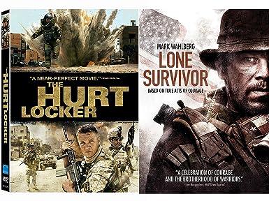 Amazon com: Hurt Locker DVD & Lone Survivor True Story