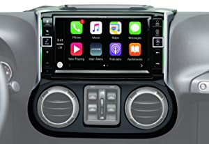 "Alpine Electronics i109-WRA 9"" Restyle Dash System with Apple CarPlay for Jeep Wranglers"