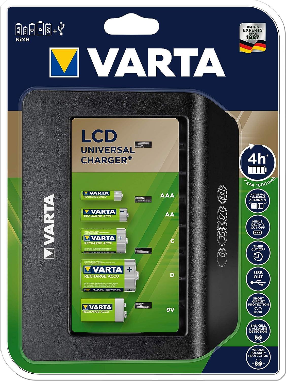 Caricatore Universale LCD Senza Batteria Varta