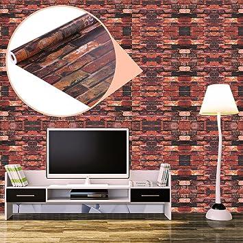 UNIQUEBELLA 3D Steinoptik Tapeten Wanddeko Design Tapete Wandtapete Wand  Dekoration Für Wohnzimmer Kinderzimmer Schlafzimmer Küchen Hotel