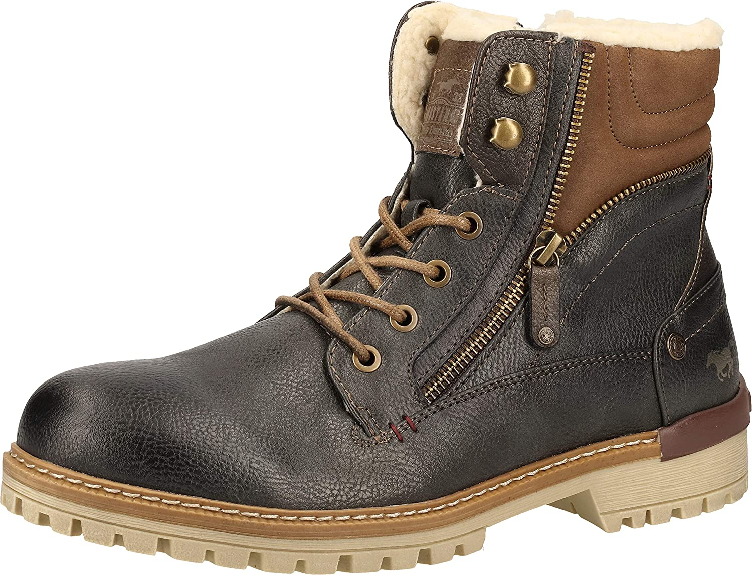 Mustang 4142-601-259, Bottes Classiques Homme Anthracite