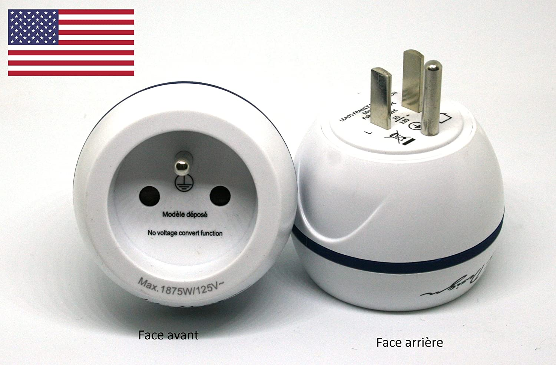 LTE Design - BB0166 - Adaptador de viaje ESPANA para USA- Leach Travel Europe: Amazon.es: Electrónica