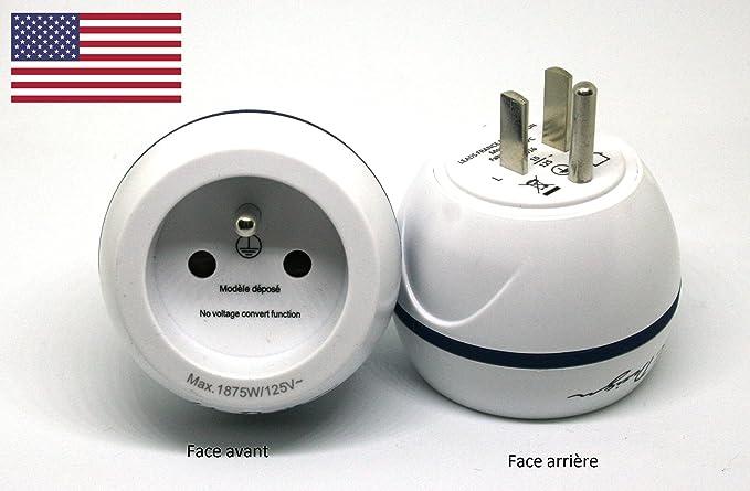 LTE Design - BB0166 - Adaptador de viaje ESPANA para USA- Leach ...