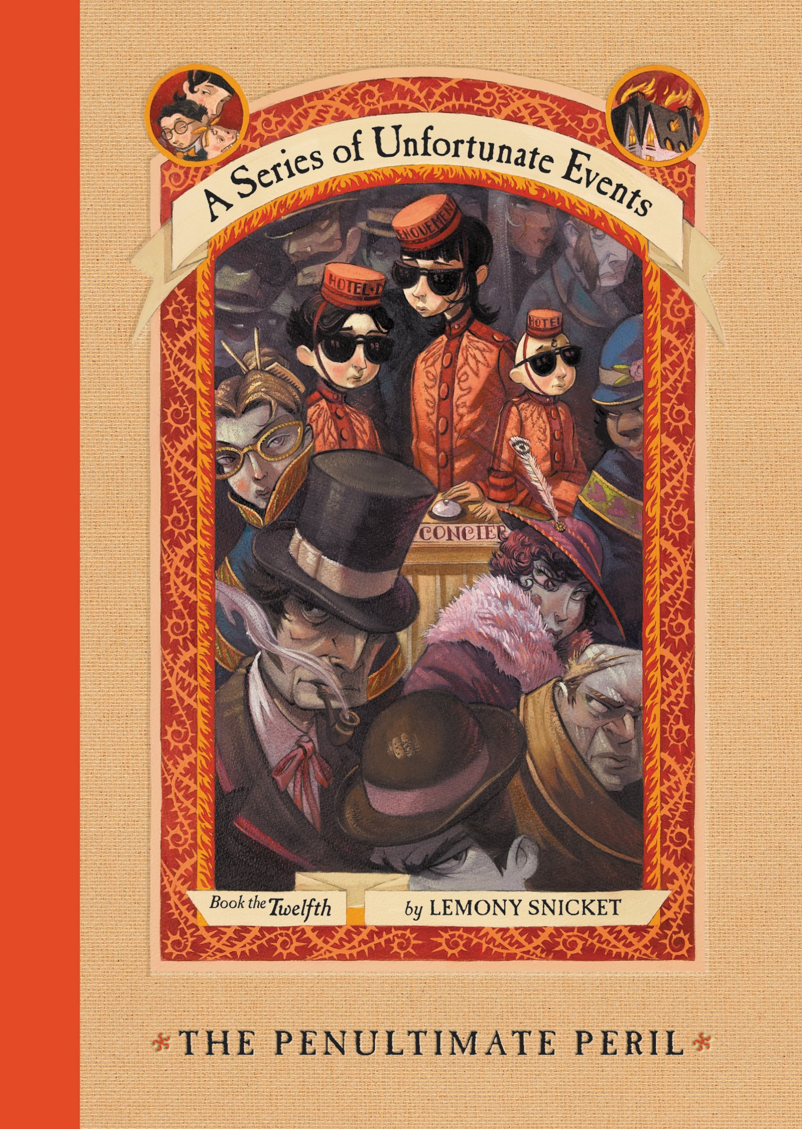 The Penultimate Peril (a Series Of Unfortunate Events, Book 12): Lemony  Snicket, Brett Helquist: 9780064410151: Amazon: Books