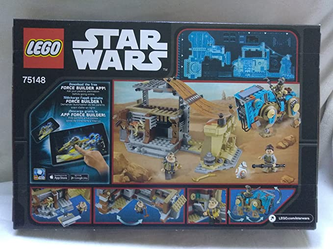 Amazoncom Lego Star Wars Encounter On Jakku With Unkar Plutt