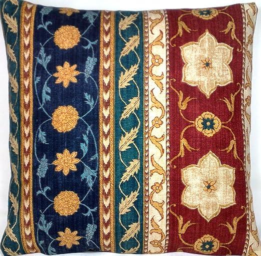 Diseño tradicional funda de almohada Funda de Cojín Tejido ...
