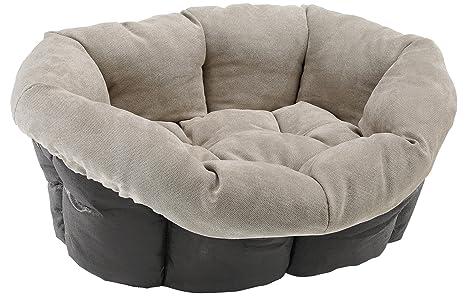 Ferplast sofá Prestige 6 cojín Gato y Perro Cama Cubierta/Tejido sintético, 73 x