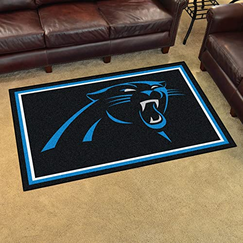 Fanmats Carolina Panthers 4×6 Rug