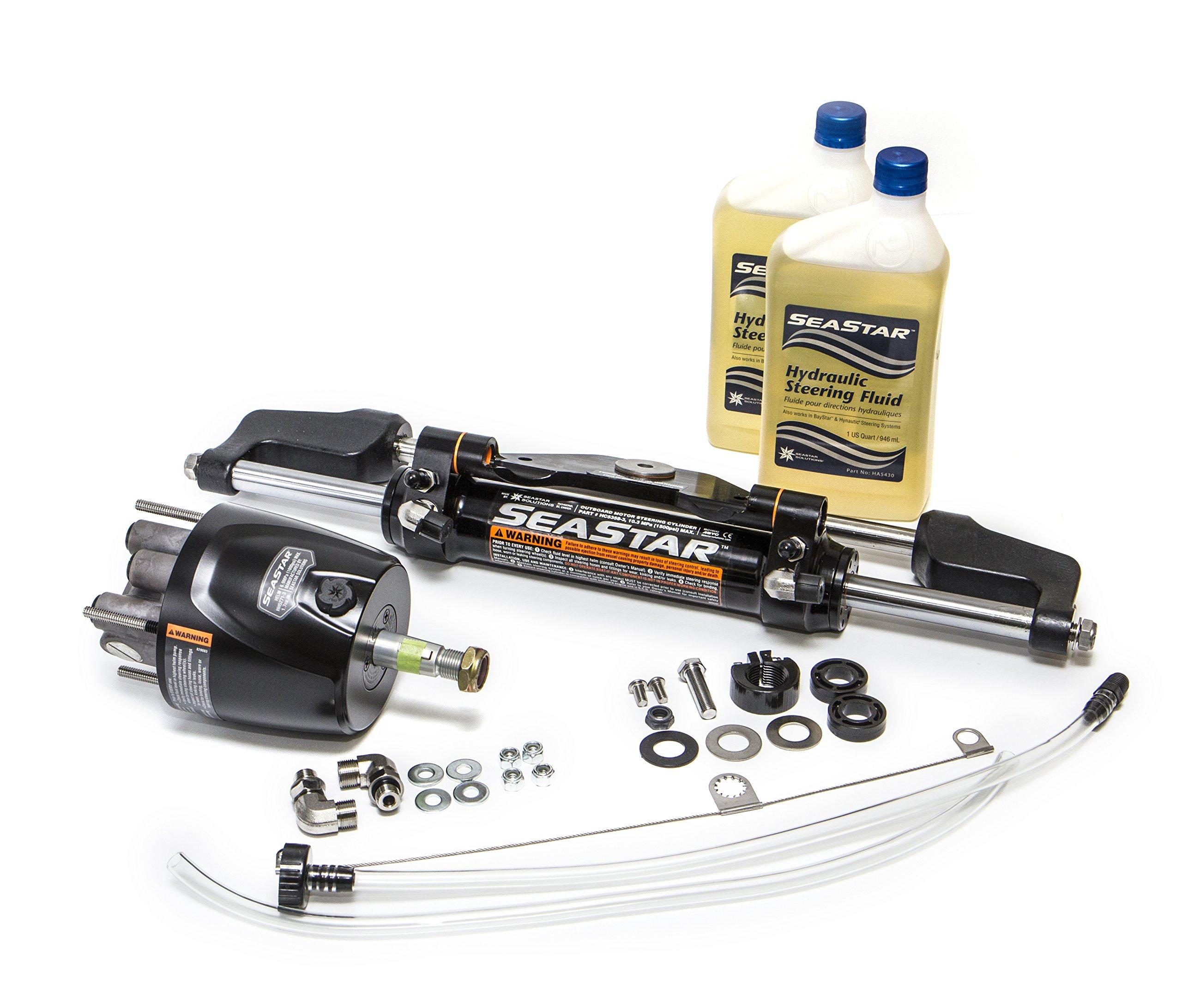 SeaStar HK6500Y-3 1.7 Yamaha Marine Hydraulic Steering Kit (Without Hoses) by SeaStar
