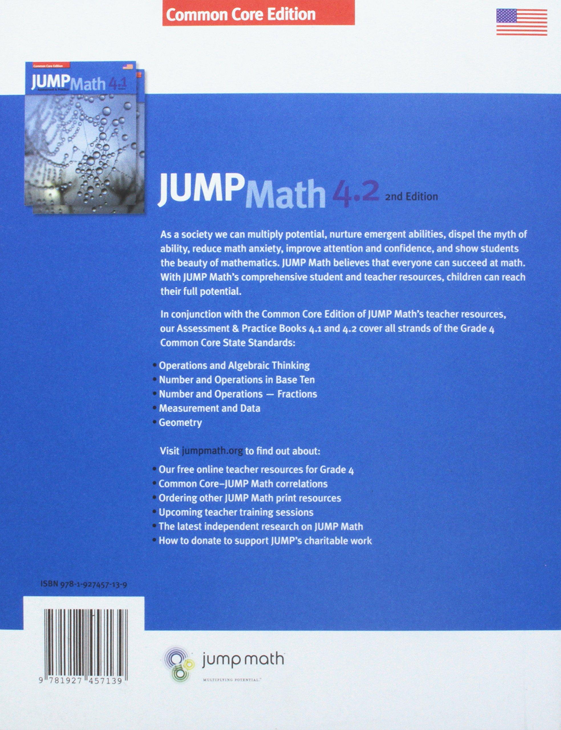 Amazon com: Jump Math AP Book 4 2: Us Common Core Edition