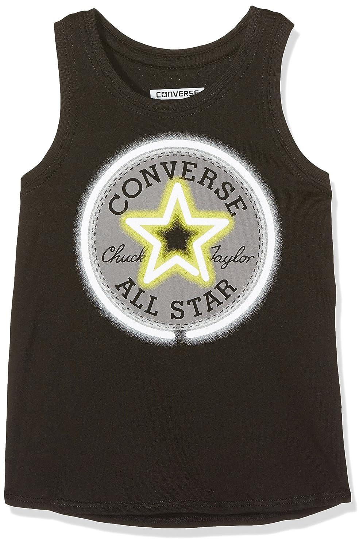 Converse Neon Chuck Patch Tank Black, Chándal para Niñas, Negro ...