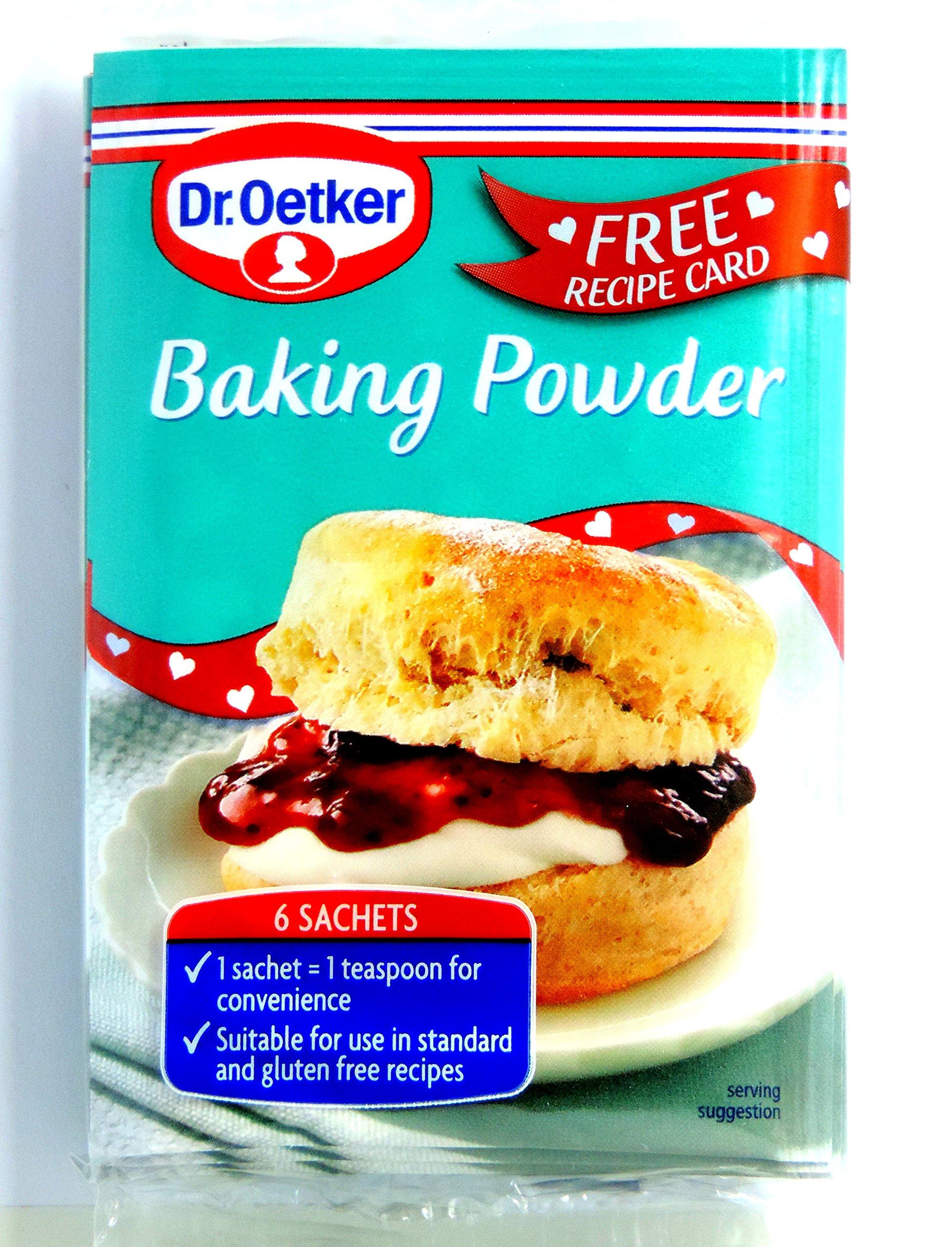Dr. Oetker - Home Baking - Baking Ingredients - Baking Powder - 6x5g (Case of 14)