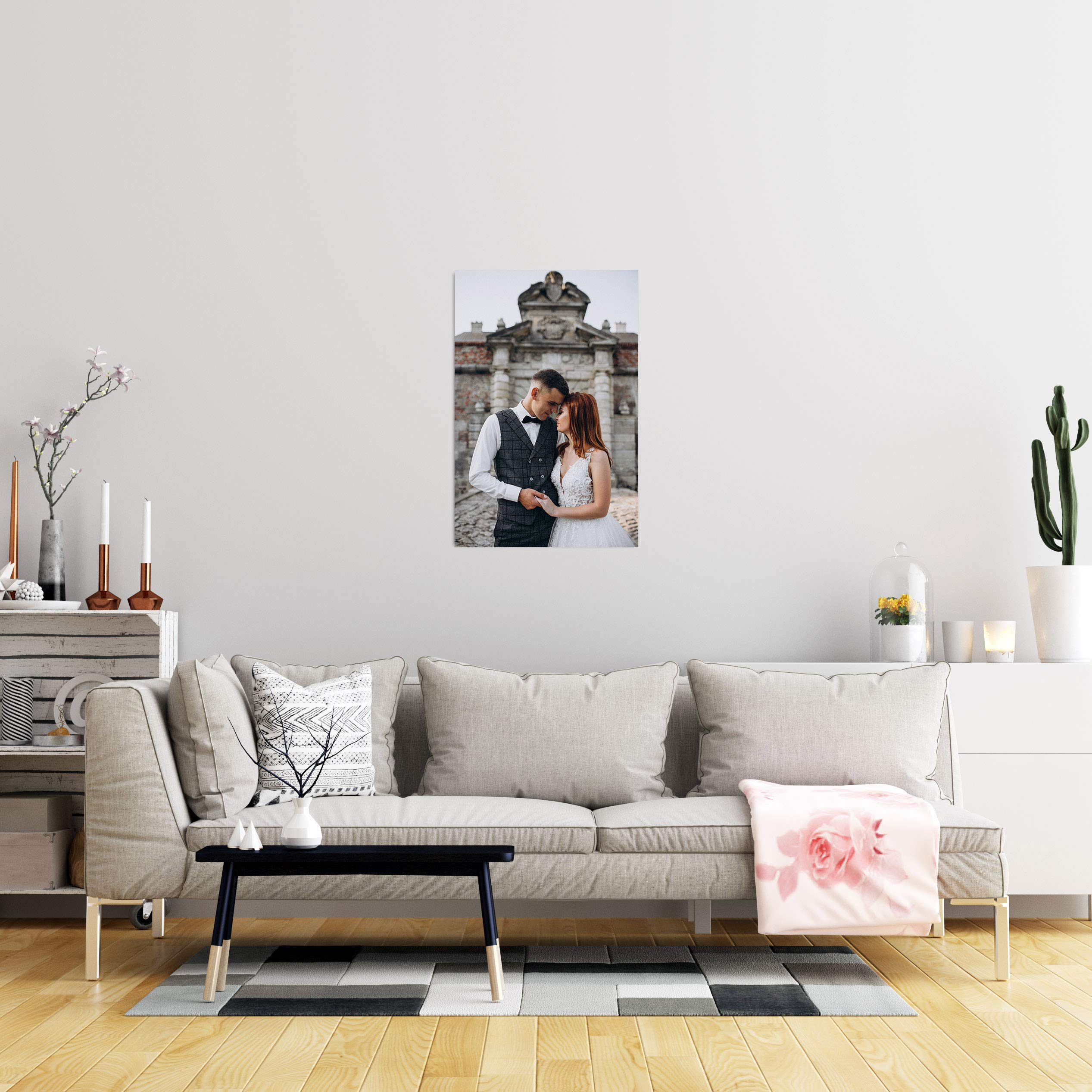 WISE TIGER Custom Canvas Print with Your Own Photos, Personalized Pictures to Canvas Wall Art, Digital Printing (36\