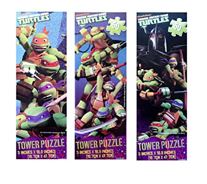 UPD Teenage Mutant Ninja Turtles Tower Puzzles (1 Puzzle) (Assorted Styles)