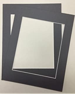 pack of 2 24x36 black picture mats with white core for 20x30 pictures