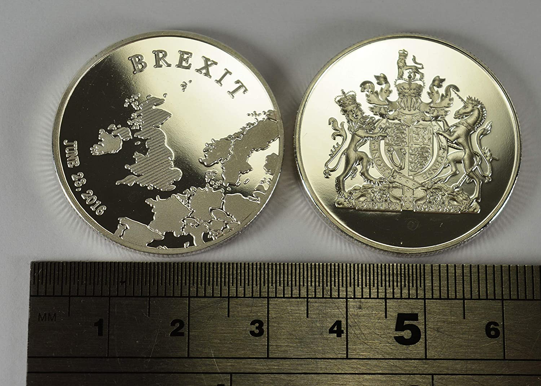 Collectors//Albums NEW! Silver BREXIT Commemorative Coin in Capsule