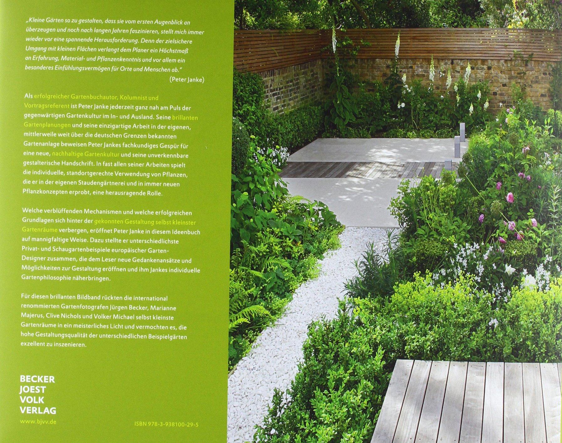Kleine Gärten. Das große Ideenbuch Garten- und Ideenbücher BJVV ...