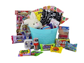 Amazon one direction easter egg citement candy gift basket one direction easter egg citement candy gift basket for tween teen girls negle Gallery