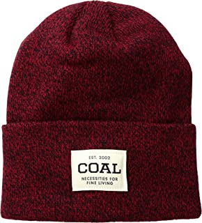 168773936e517e Amazon.com: Coal Men's Frena Solid Unisex Beanie, Heather Burgundy ...