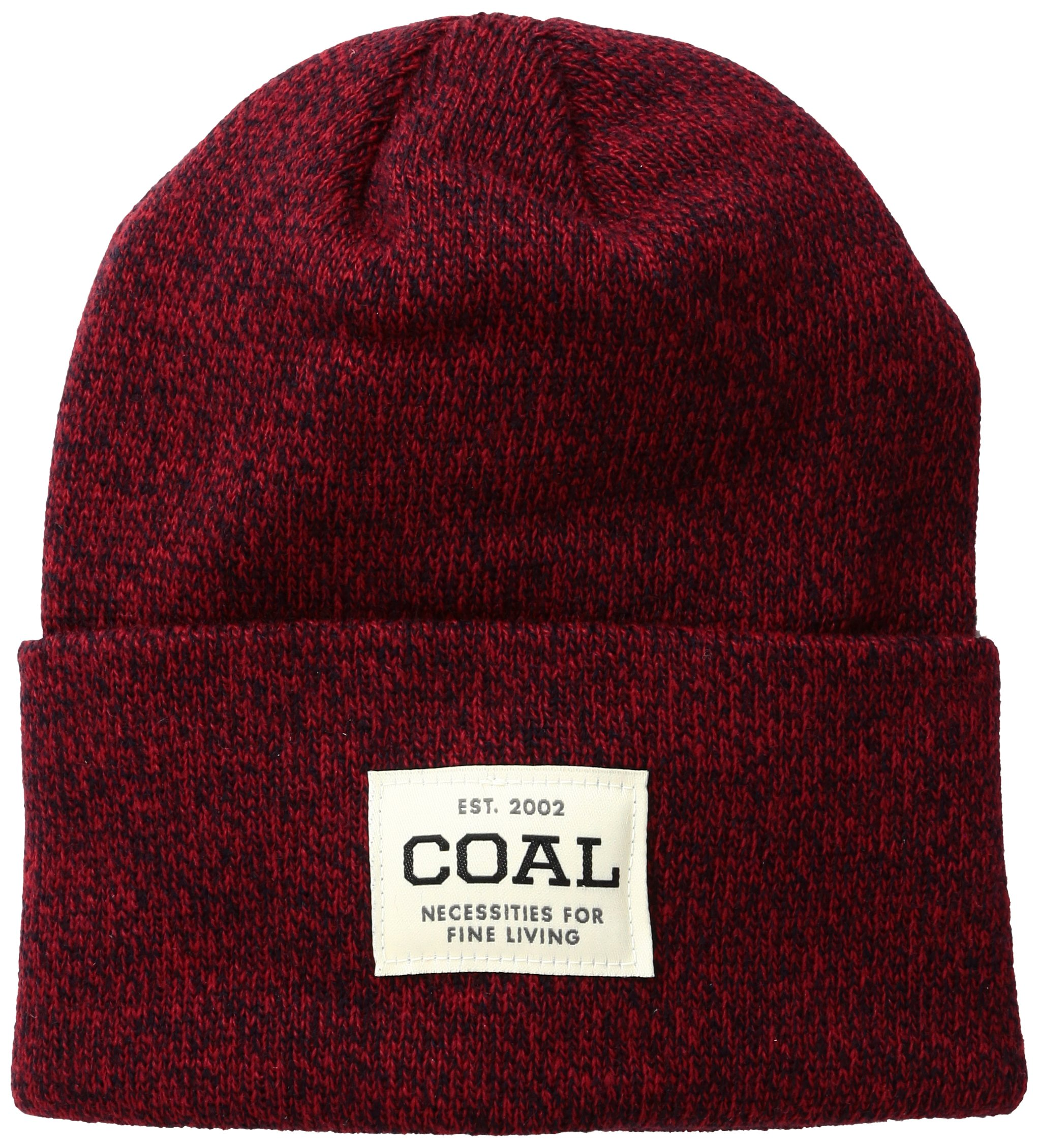 Coal Men's The Uniform Fine Knit Workwear Cuffed Beanie Hat, Americana, One Size