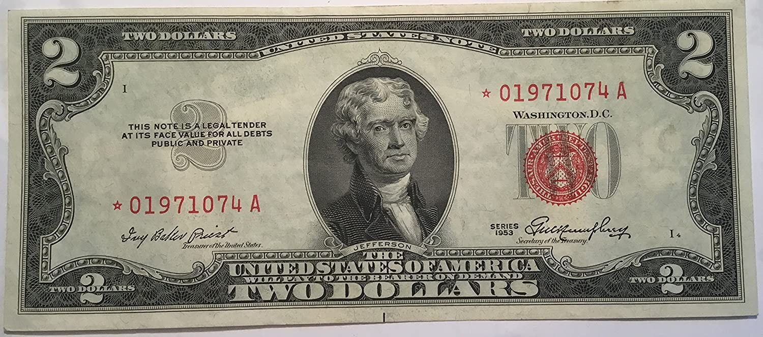92 1953 Silver Certificate Value See For Example1953 Red Seal