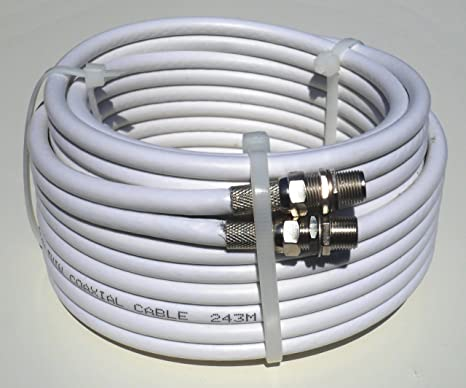 7m Satellite Cable Twin Shotgun White Extension Kit - Exterior or Interior on design solutions, suspension solutions, software solutions, roofing solutions, concrete solutions, plumbing solutions, kitchen solutions, electrical solutions, battery solutions, networking solutions, safety solutions, computer solutions, service solutions, cabling solutions, control solutions, body solutions, engineering solutions, carpet solutions, security solutions, lighting solutions,