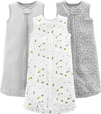 Simple Joys by Carters - Saco de dormir - 2 bolsas de dormir de microforro polar. - para bebé: Amazon.es: Ropa y accesorios