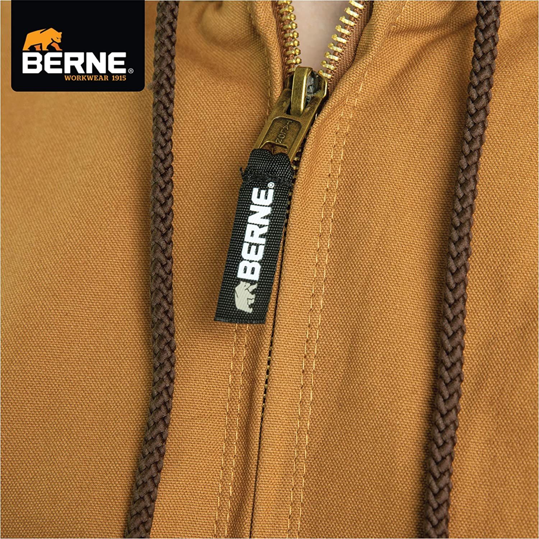 Berne Mens Big /& Tall Original Hooded Jacket