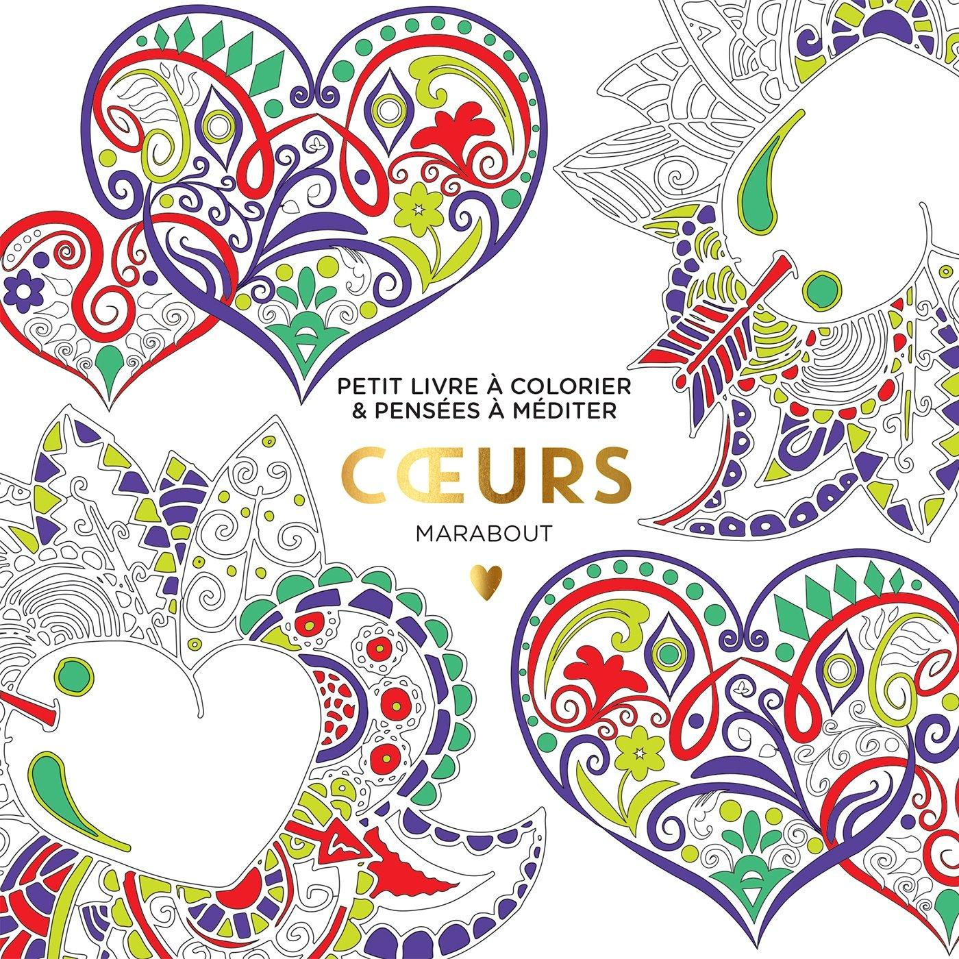 Coloriage Coeur Motif.Le Petit Livre Du Coloriage Coeurs Amazon Fr Collectif