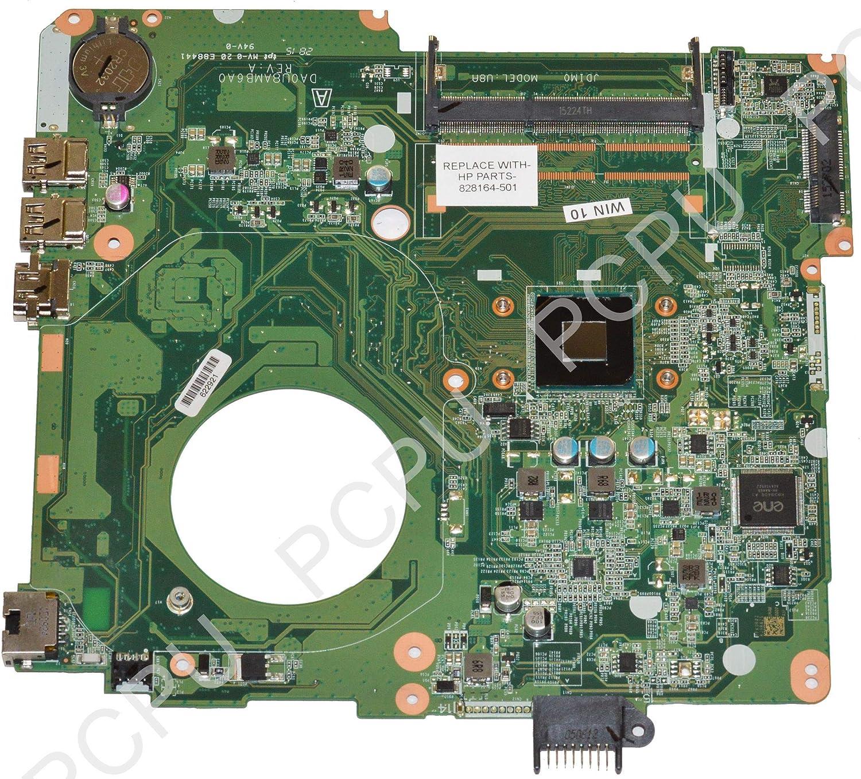 828164-501 HP 15-F Laptop Motherboard w//Intel Celeron N2840 2.16Ghz CPU