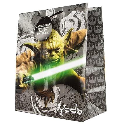 Hallmark Star Wars Geschenktüte, Yoda, groß