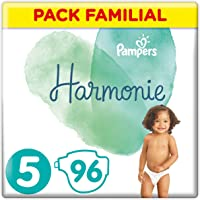 Pampers - Harmonie - Couches Taille 5 (11-16 kg) - Pack Familial(96 couches)
