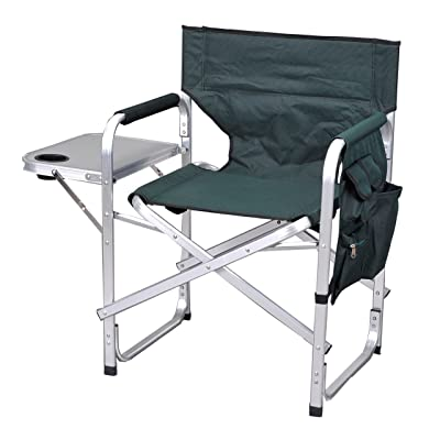 Ming's Mark Stylish Camping SL1204GREEN Full Back Folding Director's Chair : Camping Chairs : Sports & Outdoors