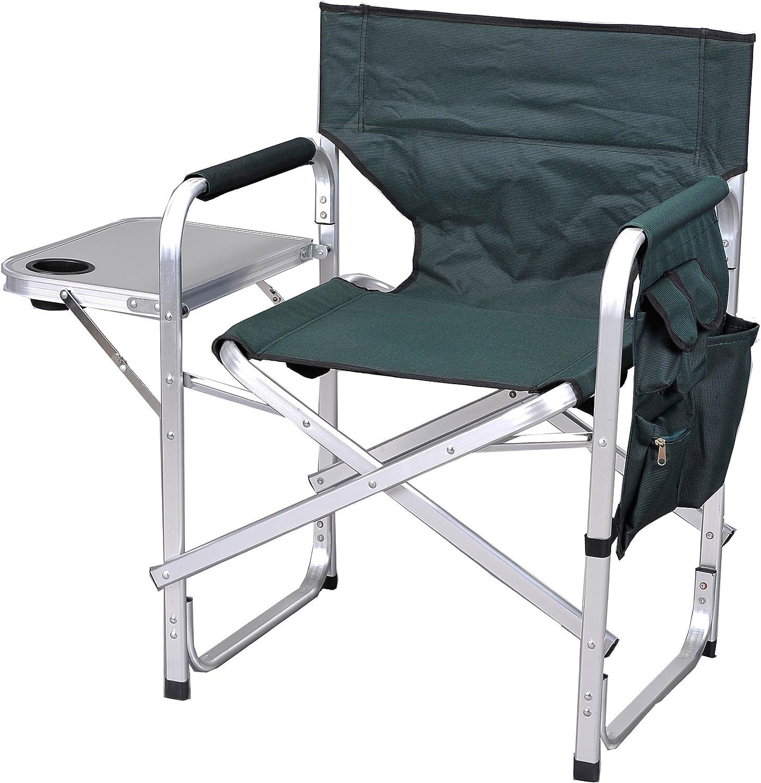 Ming s Mark Stylish Camping SL1204GREEN Full Back Folding Director s Chair