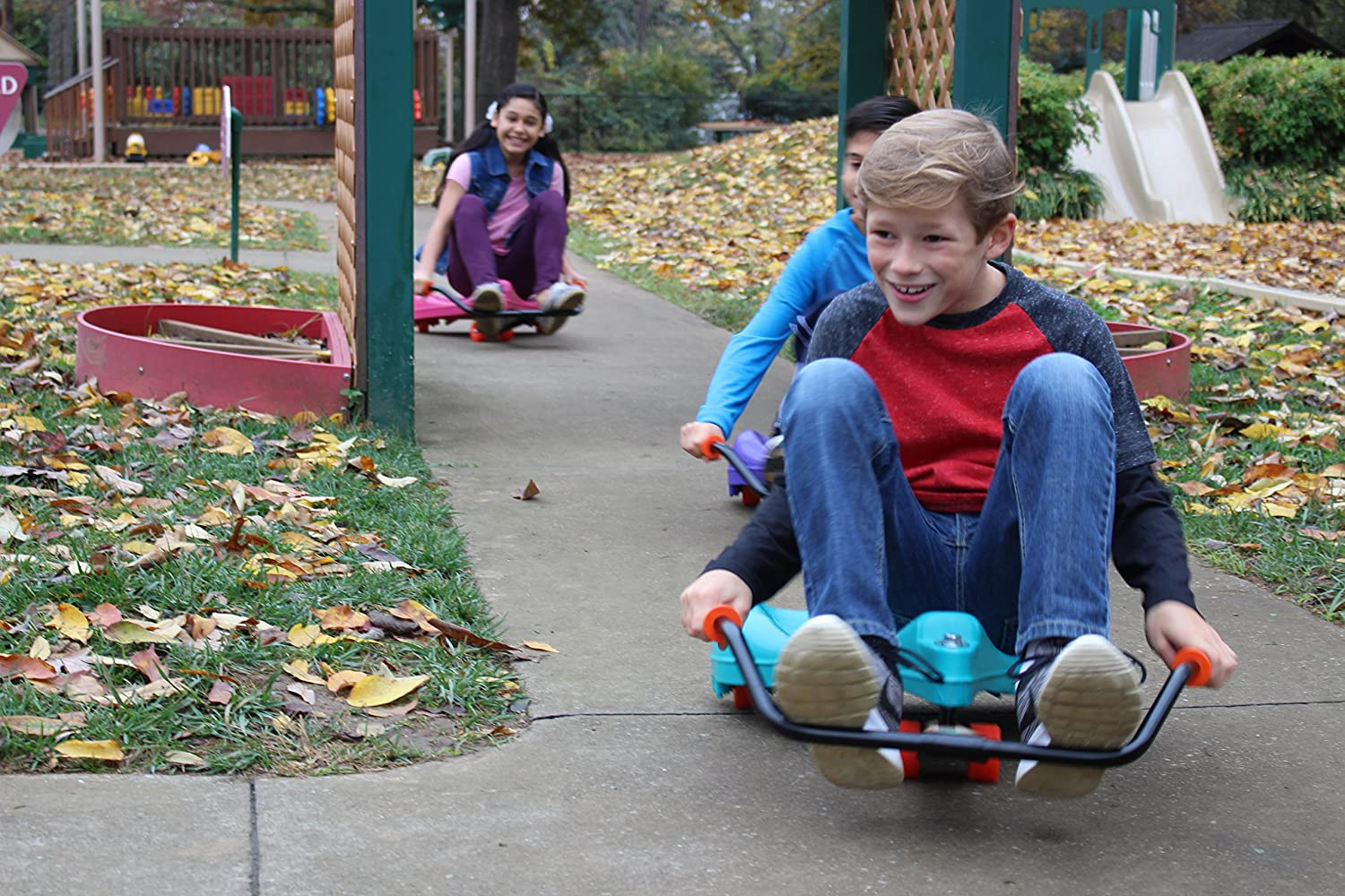 The Original Flying Turtle Ride-On Scooter