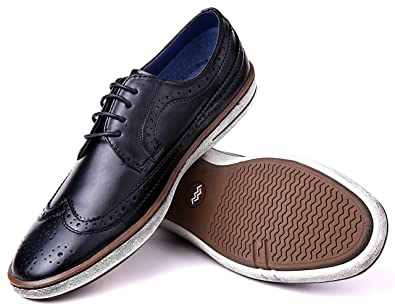 Marino Oxford Dress Shoes For Men Formal Leather Shoes Casual