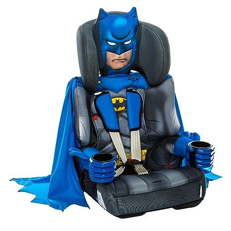 KidsEmbrace Batman Deluxe Sillita de coche Grupo 1-3 con todos los Estándares de Seguridad Europeos es ideal para niños de 9 meses hasta 12 años