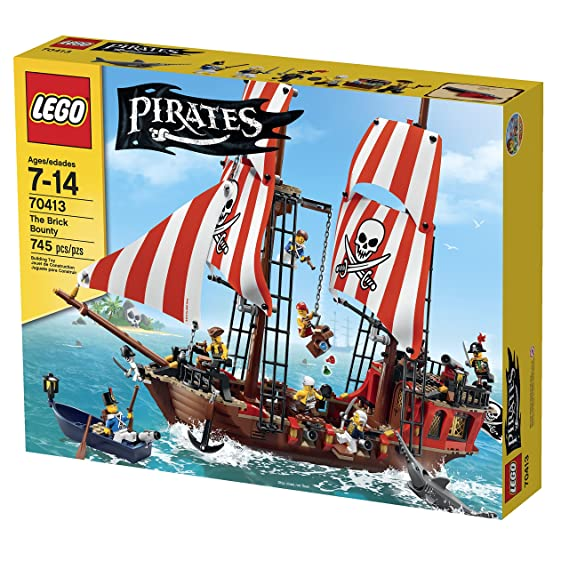 Amazon Lego Pirates The Brick Bounty 70413 Discontinued By