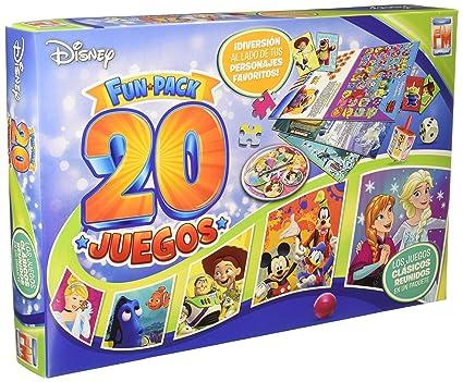 Disney Board Game Multi Juegos 20 En 1 (Spanish Edition)