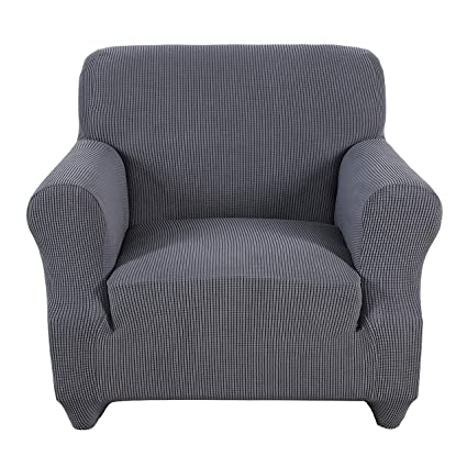 Superb Obstal Stretch Spandex Armchair Couch Slipcover Sofa Covers For Living Room One Piece Anti Slip Chair Slipcover With Elastic Bottom Chair Coverings Download Free Architecture Designs Embacsunscenecom